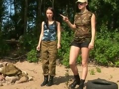 Petite military girl... porn video