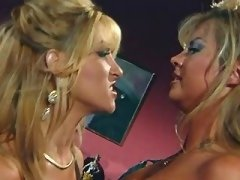 Lovely girls caress yummy... porn video