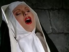 Lesbo nun licks her mother... porn video
