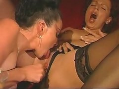 Lesbian licking and... porn video