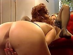 Two chicks prefer thick... porn video