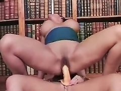 Horny lesbians have fun in... porn video